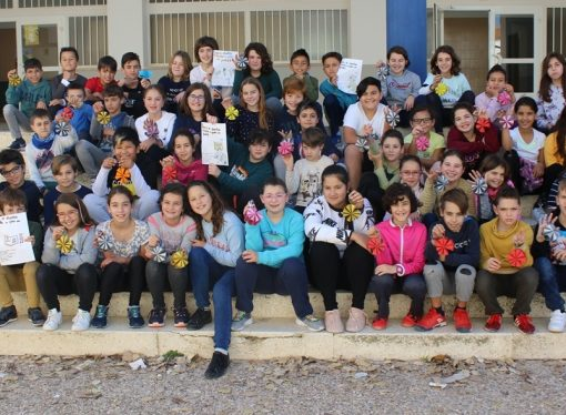 Los alumnos del CEIP Pare Melchor de Benissa nos dan una lección de solidaridad