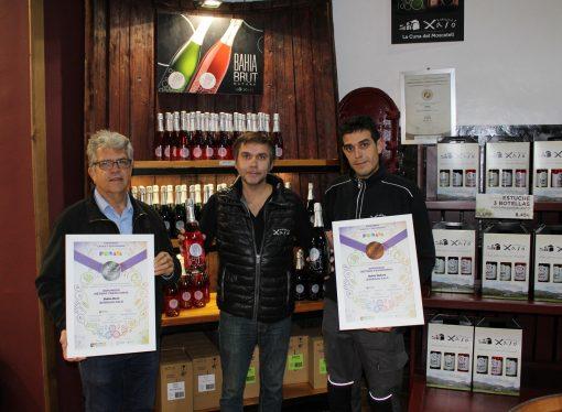 Los espumosos Bahía Brut Nature y Rosé de Bodegas Xaló premiados