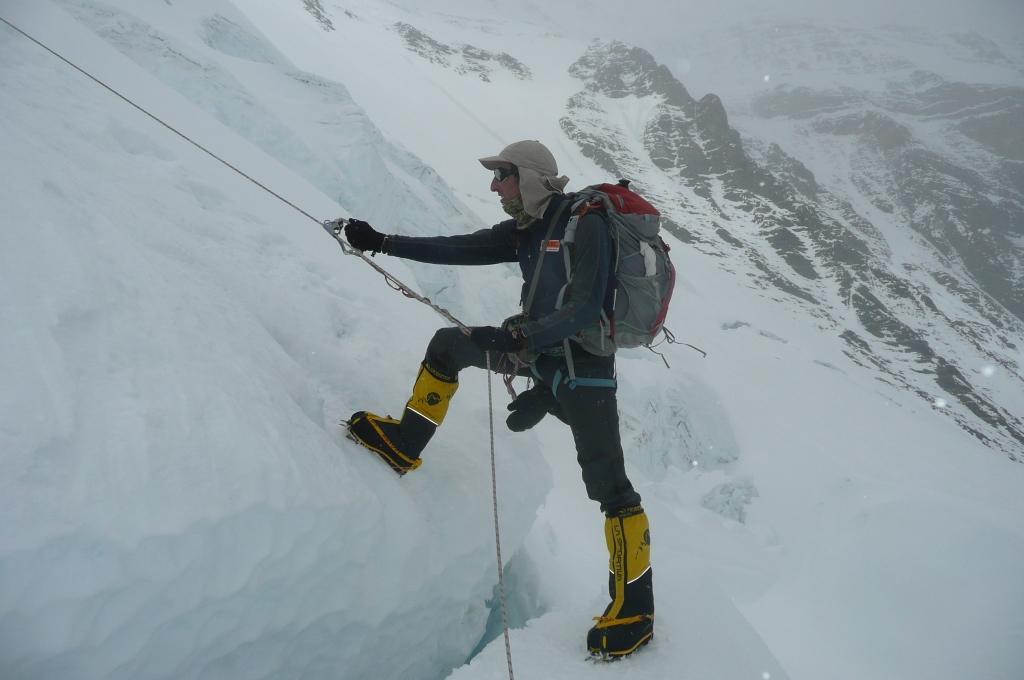 José Antonio Alejo alpinista