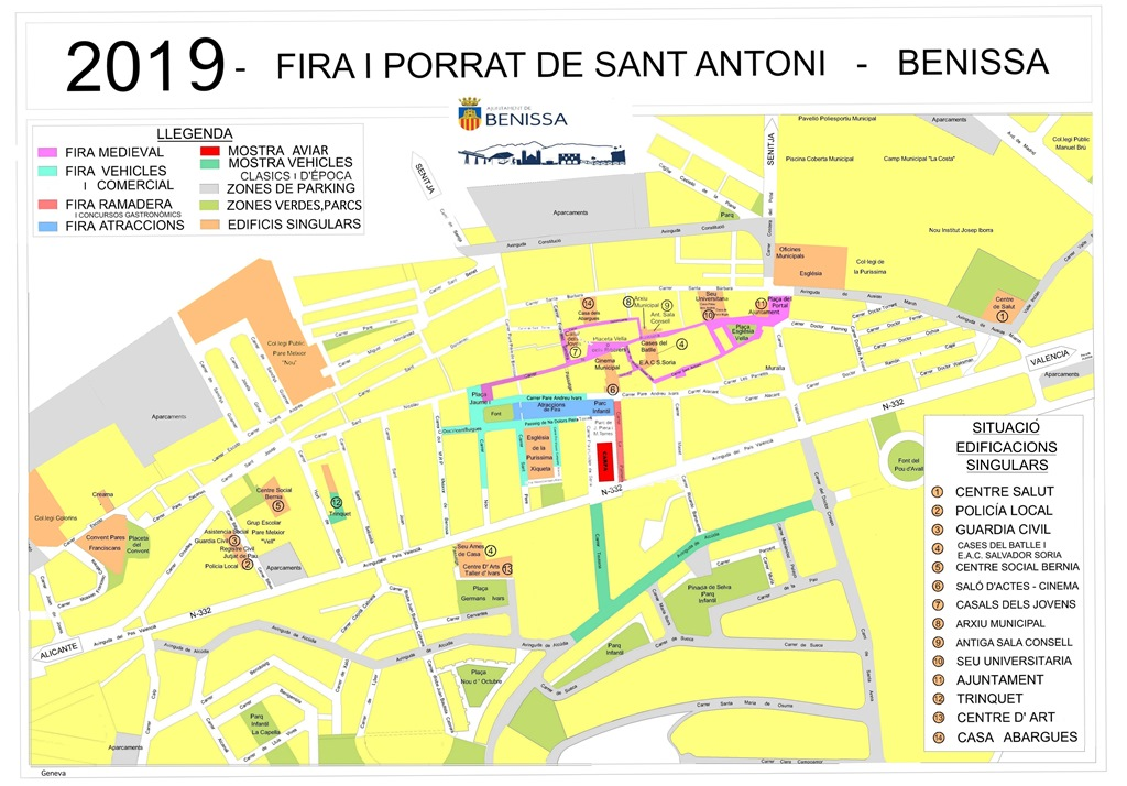 Fira i Porrat de Sant Antoni Benissa