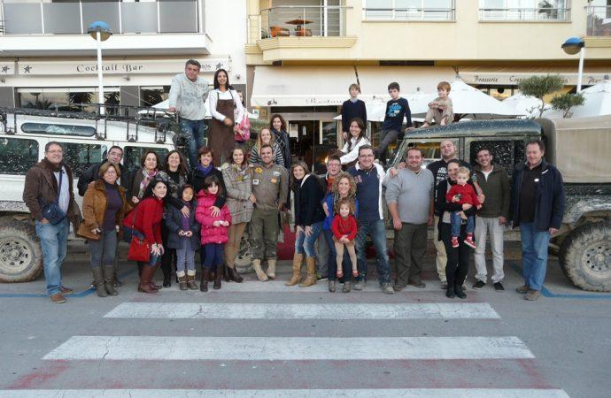 Vuelven los solidarios 4×4 a la Fira i Porrat de Sant Antoni de Benissa