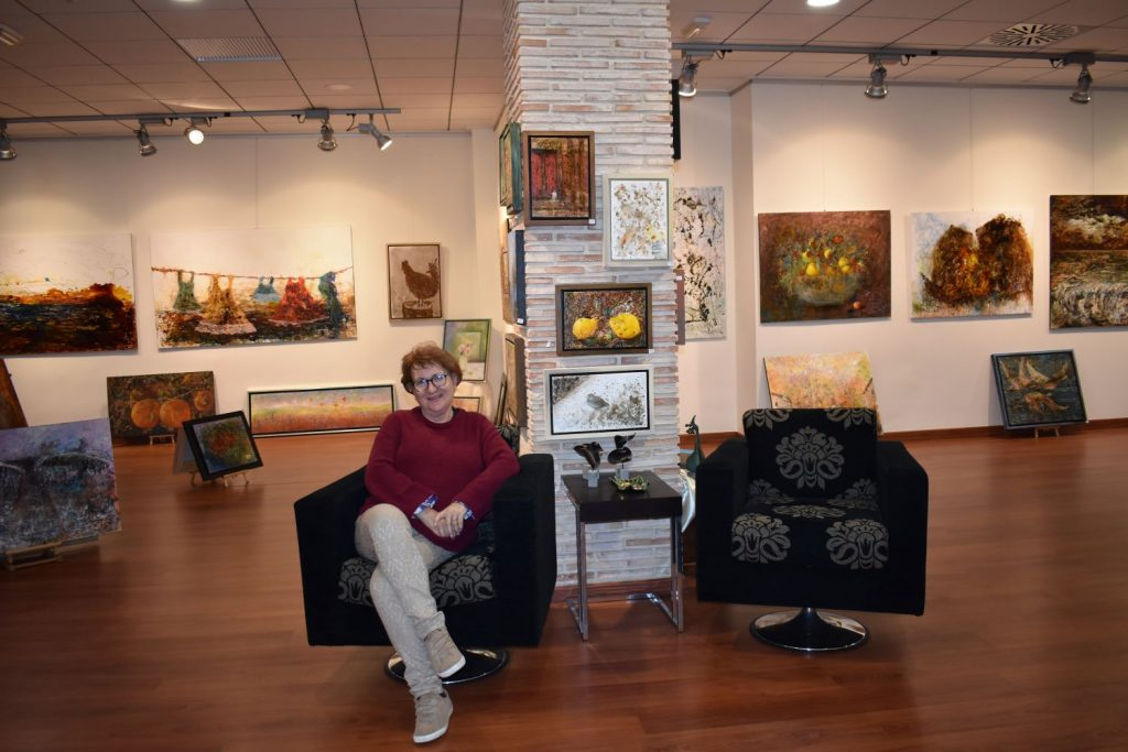 Lola Llinares, una vida rodeada de pintura