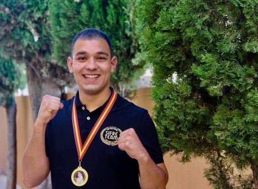 El benissero Alejandro Gallo se proclama campeón de la Comunitat Valenciana de boxeo