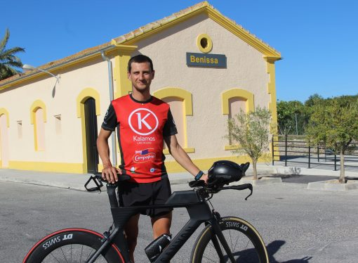 Adrián Ivars seleccionado para el Campeonato del Mundo de Ironman 70.3 en Niza