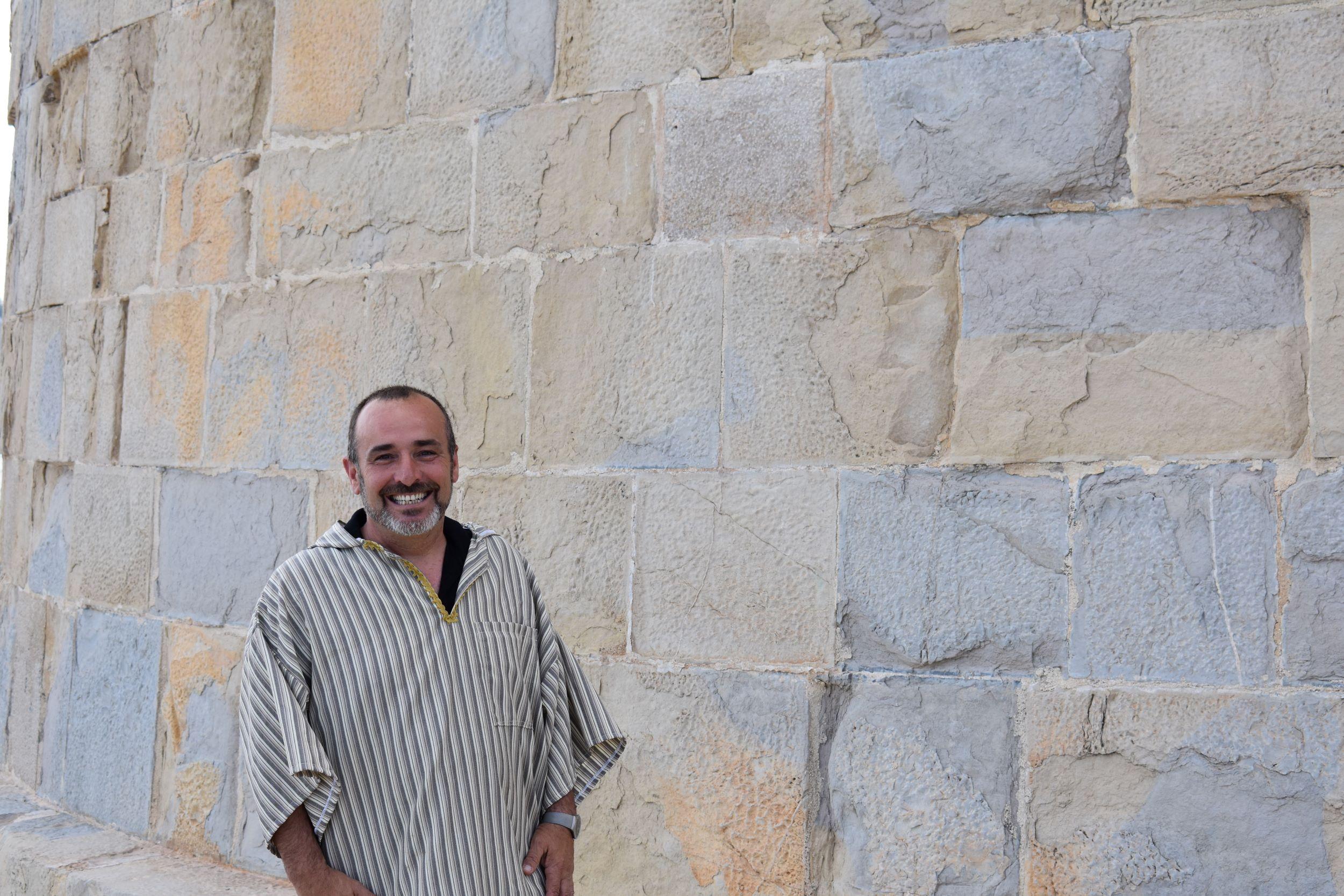 Víctor Oller presidente moros y cristianos Moraira