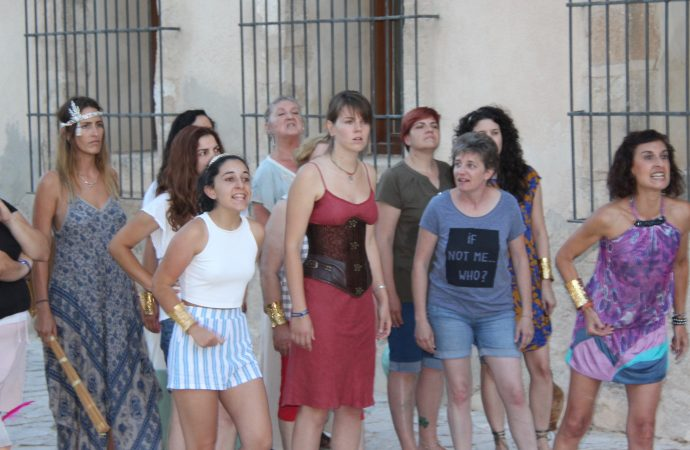 L'Escola Municipal de Teatre de Benissa estrena Lisístrata