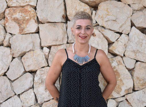 Vero Ortolá Puig, presidenta de las fiestas patronales de Teulada 2020