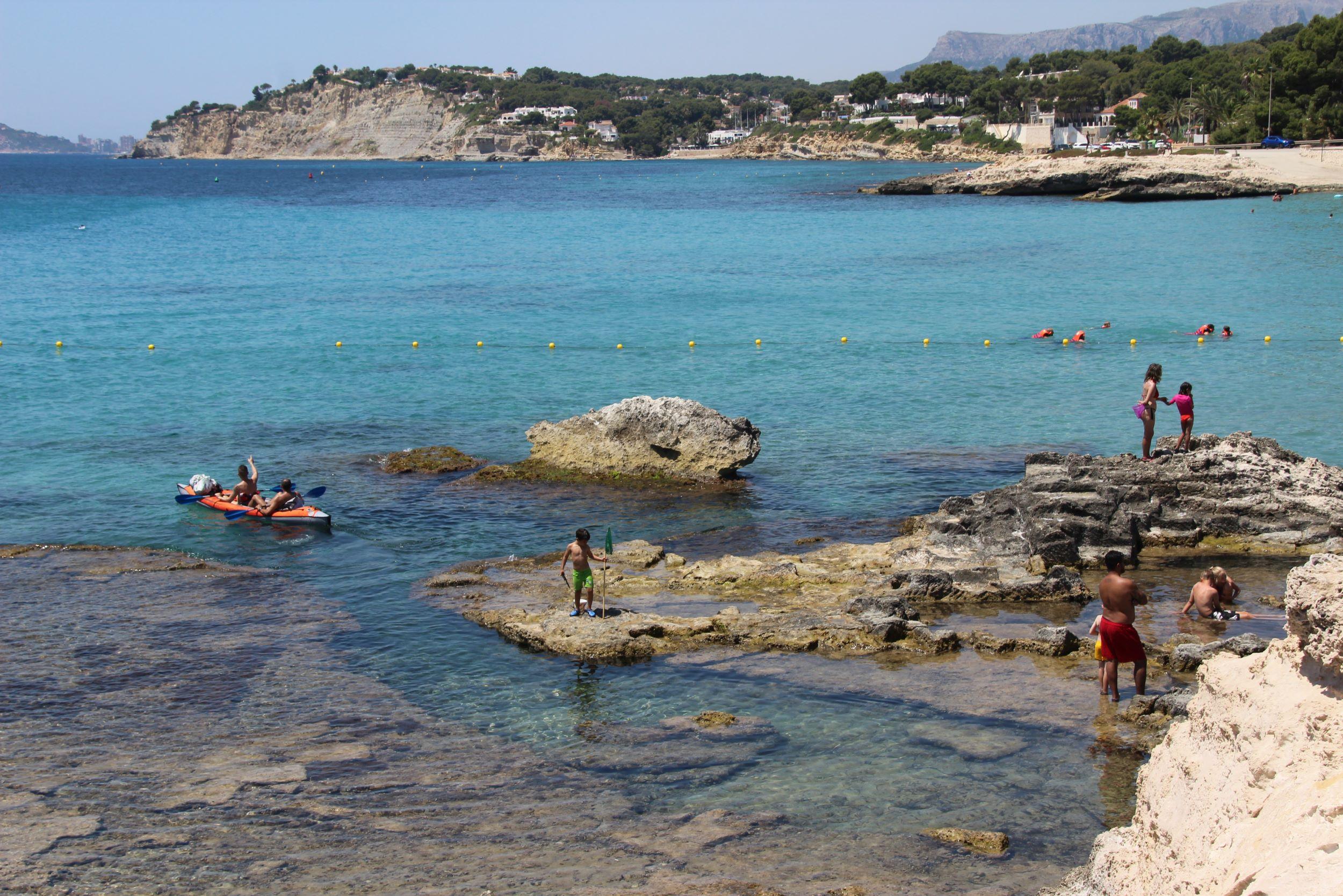 playa Ampolla Moraira