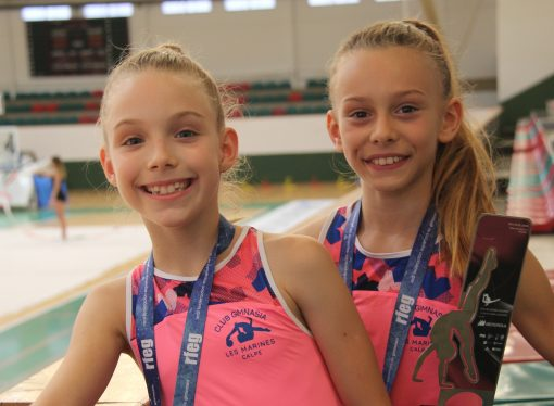 Katya Truckacheva e Irina García Roselló se proclaman campeonas de España de Gimnasia Rítmica en equipo benjamín