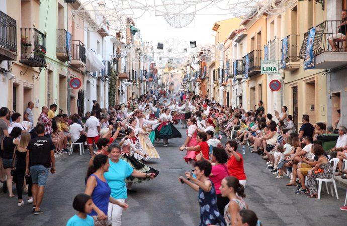 """El Raval de Teulada se prepara para sus fiestas dels """"Sants de la Pedra"""""""