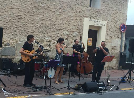 Arranca la X edición del Voramar Street Jazz Festival en Teulada Moraira