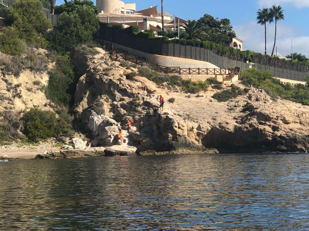 limpieza fondos marinos Benissa