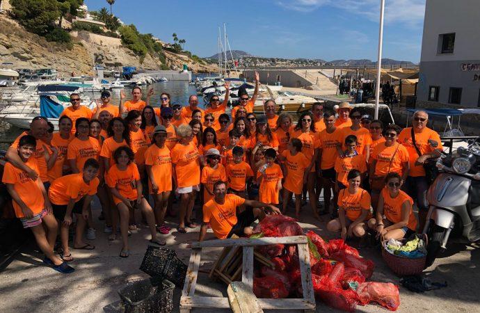 Benissa limpiará sus fondos marinos y litoral el 29 de septiembre