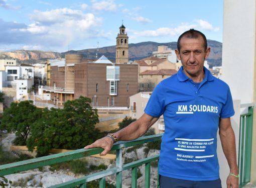"""Los 797 kilómetros más solidarios de Fernando Arabí """"Curro"""""""