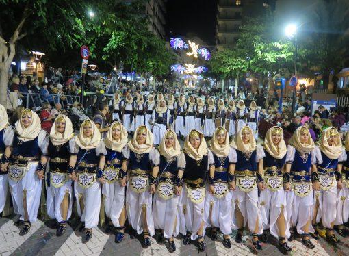 Calp inmersa en sus fiestas patronales de Moros y Cristianos 2019