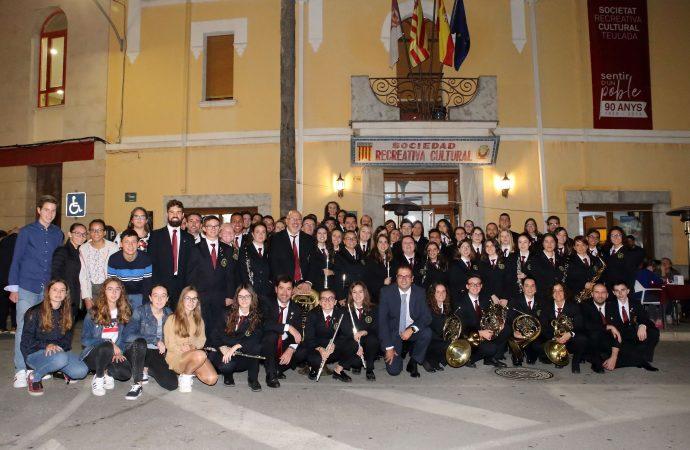 La Sociedad Recreativa Cultural de Teulada festeja sus 90 años de vida