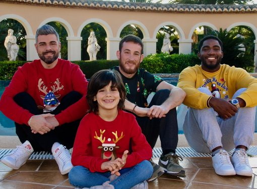 Así se grabó el vídeo navideño de El Mirall de La Marina
