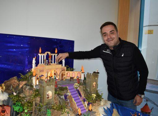 Teulada acoge estas Navidades un original Belén de Playmobil