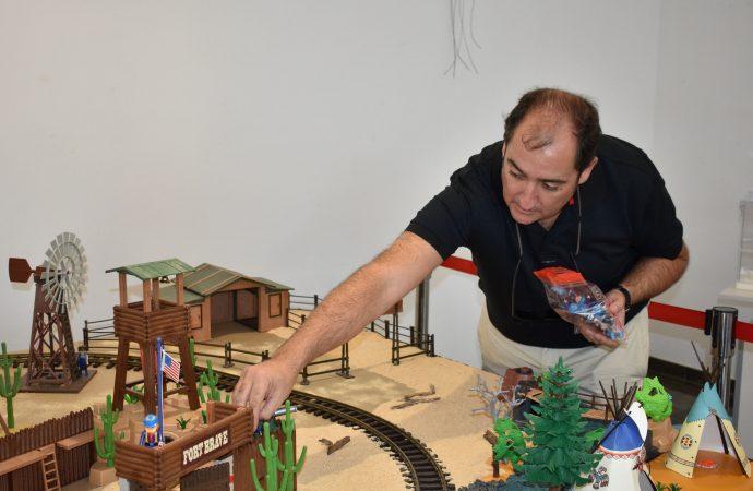 Unas 1.200 piezas únicas integran la 2º Exposición de Playmobil para estas Navidades en Teulada Moraira