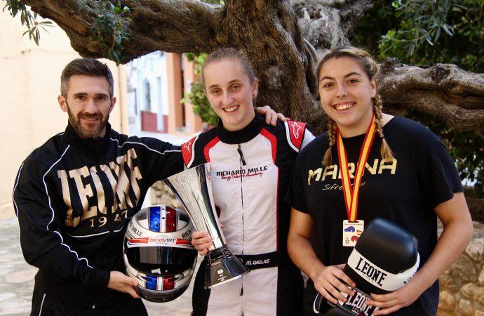 Nuevos retos para las campeonas benisseras, Marina González y Maya Weug