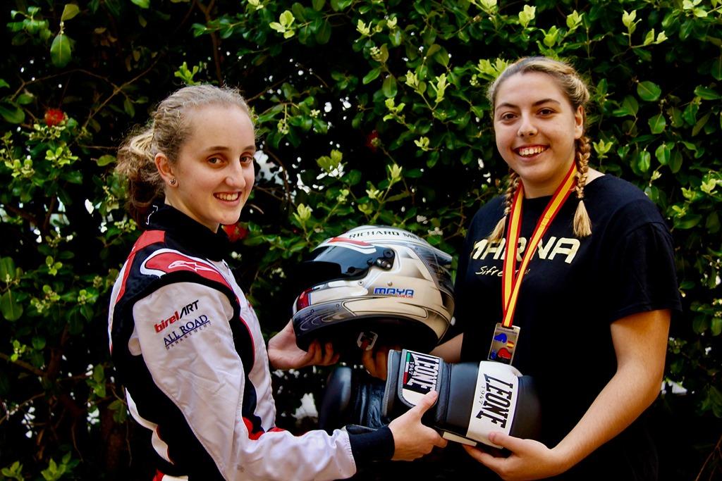 Marina González y Maya Weug