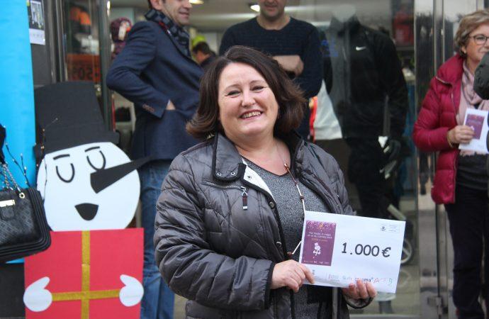 Mariola Carbó Cremades, ganadora de la campaña de los comerciantes y empresarios de Benissa