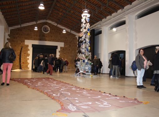 """""""Tridimensionalitat V"""" ofrece las intervenciones de 17 artistas en el Prado de Ondara"""