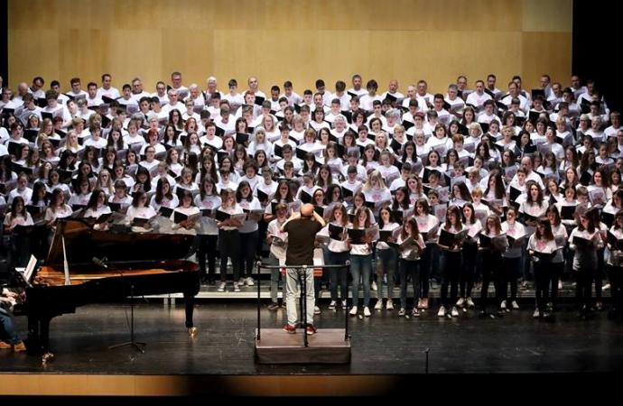 Más de 300 estudiantes de la ESO se da citan en el Auditori Teulada Moraira