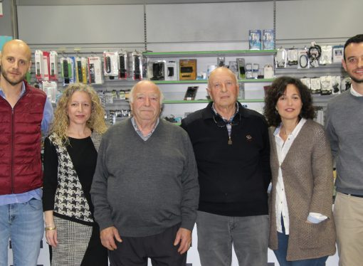50 años de historia y tres generaciones convierten a Milar Giner en el referente comarcal de los electrodomésticos