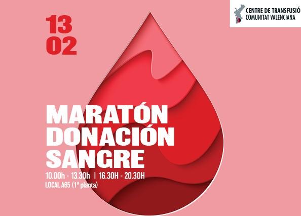 Maratón solidario de Donación de Sangre en el Portal de la Marina