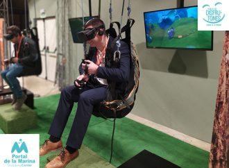 Simuladores de vuelo y viajes sorpresas en el lanzamiento de la APP del del Club de los Disfrutones