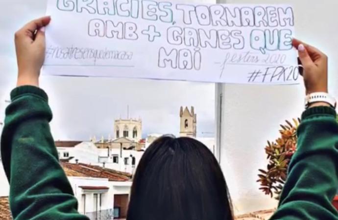 """Festers Puríssima Xiqueta 2020 se visten de largo para celebrar su """"Festival Quarentena"""""""