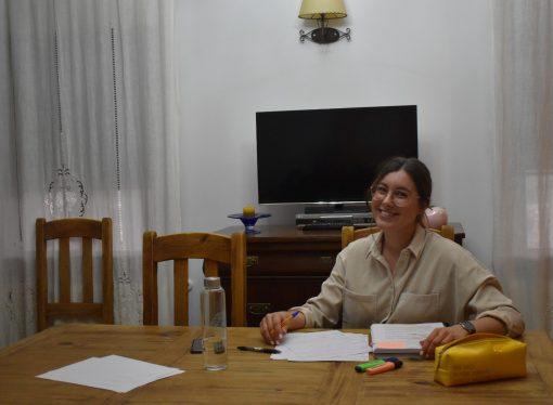 El COVID-19 cambia los planes de estudio de la benissera Amanda Santacreu Molines