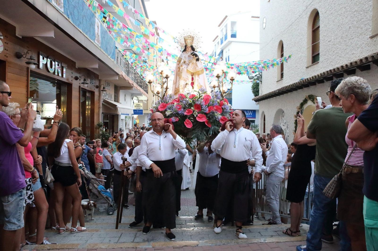 fiestas patronales Moraira