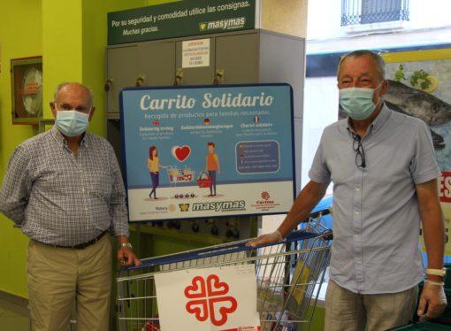 "Vuelve el ""Carrito Solidario"" del Rotary Club Benissa-Teulada"