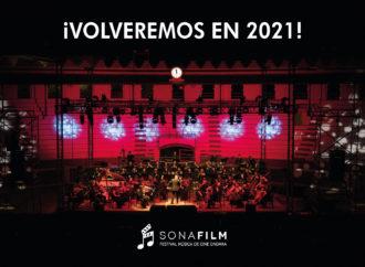 """El II Festival de Música de Cine """"Sonafilm"""" volverá a sonar en el 2021"""