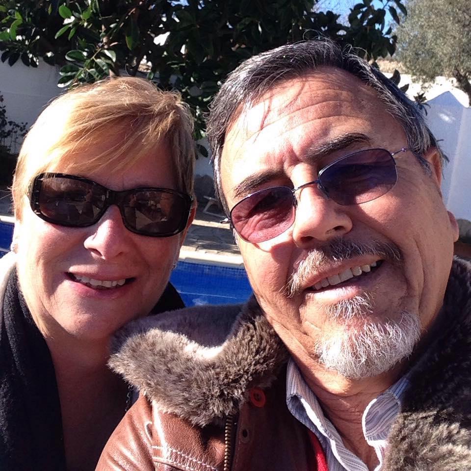 Ambrosio y su mujer Lola