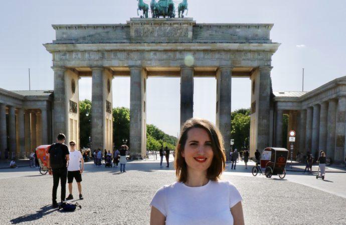 """Tània Miralles: """"A Berlín la història s´escriu de forma contínua, diària, es reescriu, perquè és molt dinàmica"""""""