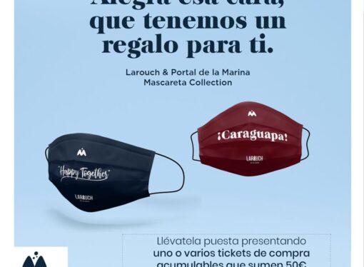 Portal de la Marina y Larouch crean la Mascareta Collection para regalarlas entre sus clientes