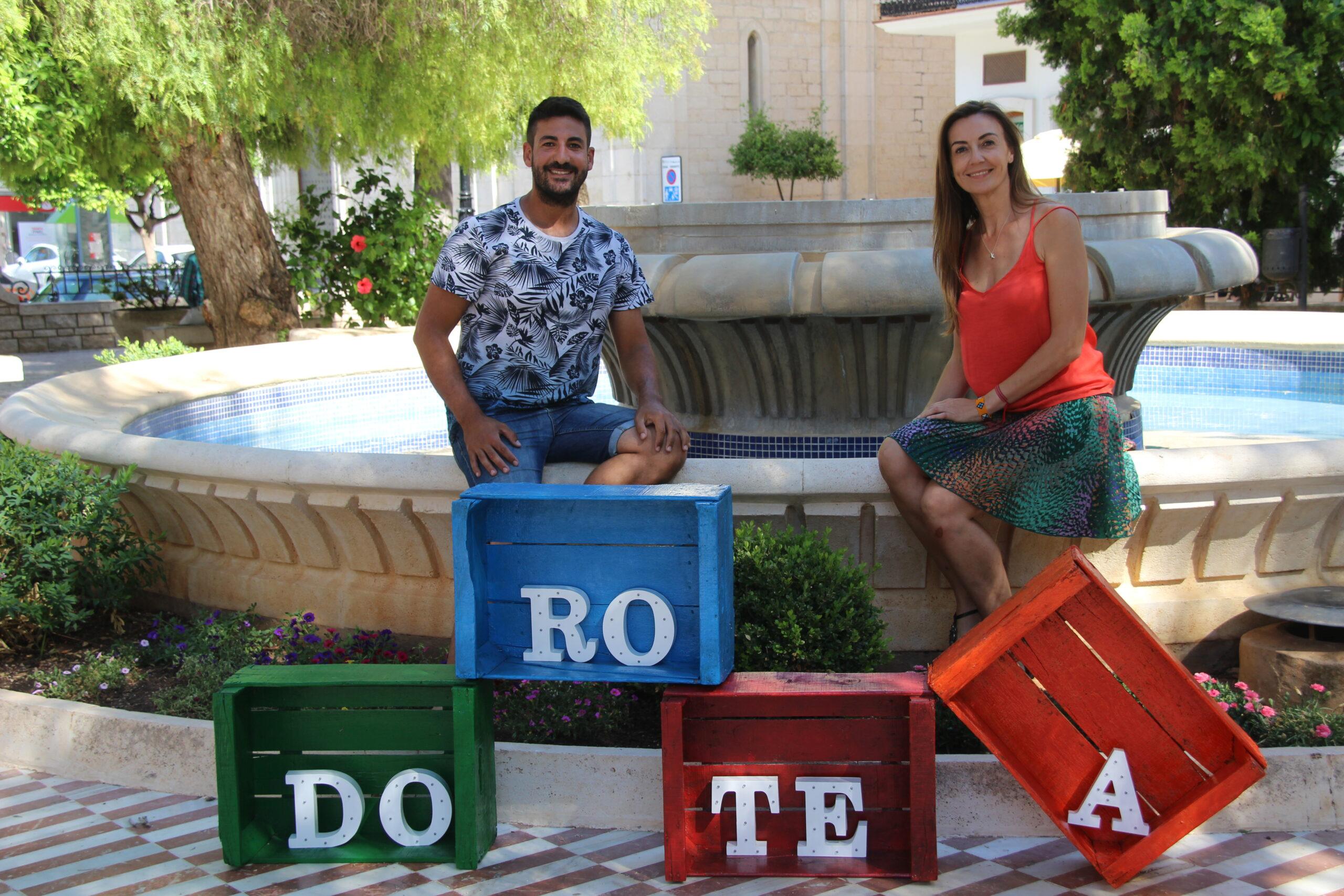 Rosa Catalán y Javier Gómez