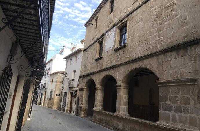 Benissa remodelará una de sus joyas arquitectónicas del S.XVI, la Llotja