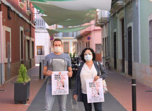 Gata, Botiga Oberta una campaña para incentivar el tejido comercial