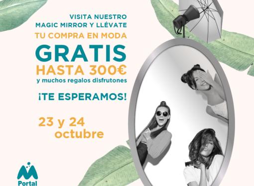 Acciones especiales de moda con la participación de la revista Telva y la influencer Natalia Ferviú en el C.C Portal de la Marina