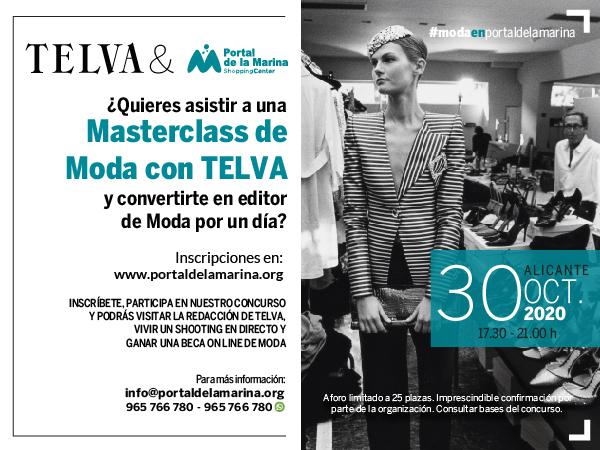 El Centro Comercial Portal de la Marina se convierte en un espacio de moda y formación tras una alianza con la revista Telva