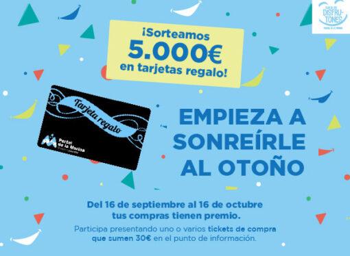 Portal de la Marina sortea 5.000€ en tarjetas regalo