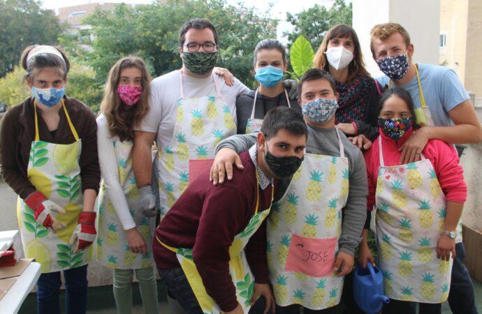 Así se preparan para un futuro laboral los alumnos de Colegio Público de Educación Especial Gargasindi