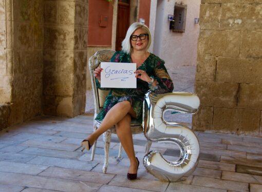 """Mª Carmen Tosina: """"Gracias por acompañarme en estos 5 años, tú haces que sigamos creciendo"""""""