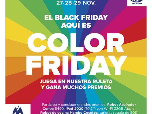 Portal de la Marina celebrará este año su Color Friday y repartirá cientos de premios
