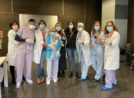 1400 profesionales del Departamento de Salud de Dénia vacunados contra el COVID-19 en 24 horas