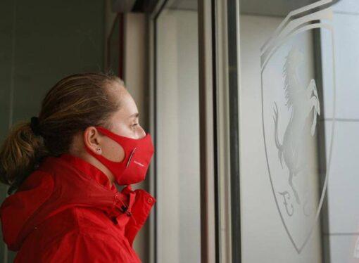 """Maya Weug: """"Estoy súper contenta de haber sido la elegida, ser la primera mujer en la historia de la Academia Ferrari lo hace más especial"""""""